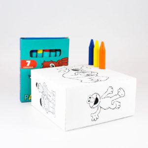 Caja-colorear