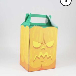Mini caja de Halloween