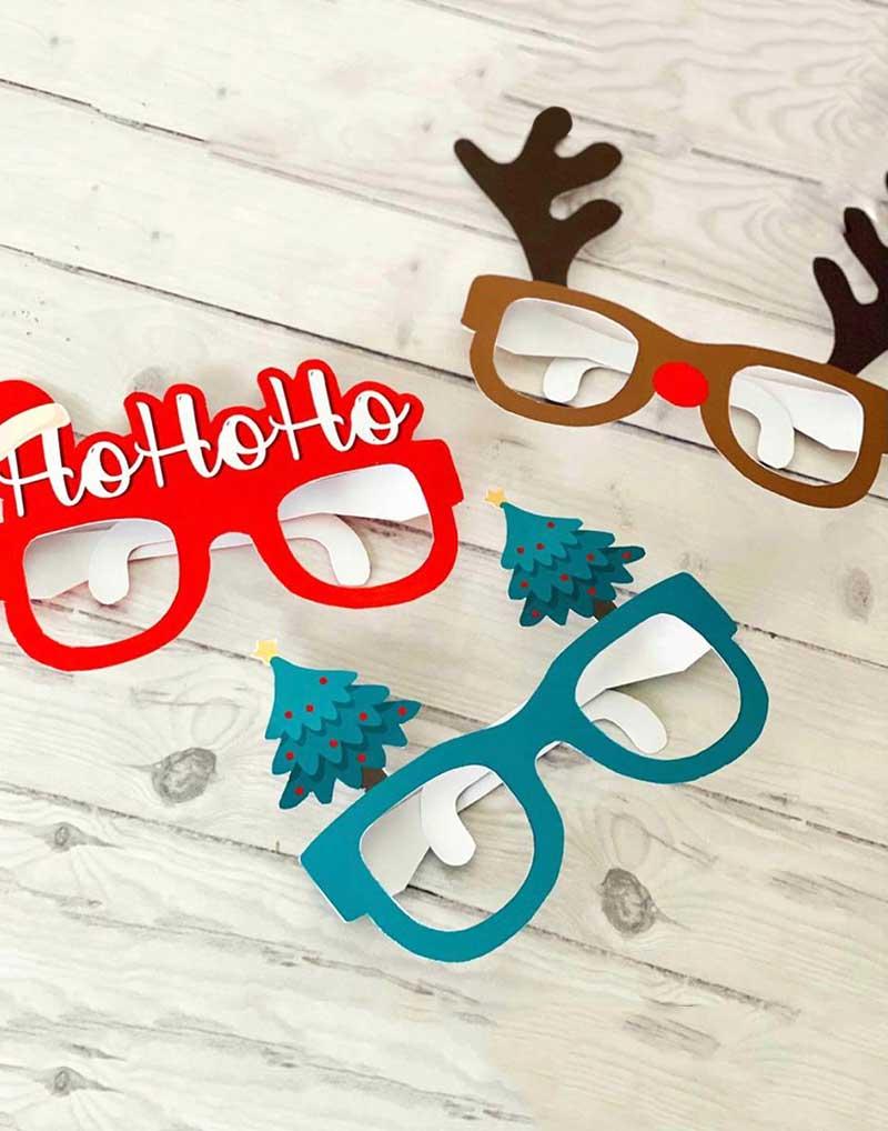Gafas Navidad (3 ud)